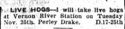 November 18 1919 / Charlottetown Guardian